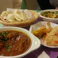 Photo taken at Salaam Namaste Curry House by cindy on 11/24/2013