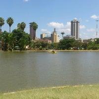 Photo taken at Uhuru Park by Mumbi K. on 2/14/2013