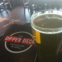 Photo taken at The Upper Deck TapHouse + Grill by Jeremy M. on 3/30/2013