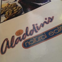 Photo taken at Aladdin's Natural Eatery by Lalee C. on 5/18/2013