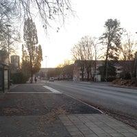 Photo taken at Dragonvägen (B) by Thomas B. on 11/13/2012