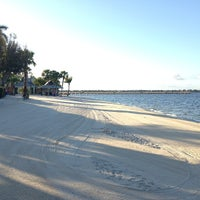 Photo taken at Cape Coral Beach at Yacht Club Community Park by Simon on 5/4/2013