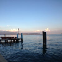 Photo taken at Gardone Riviera Port by Simon on 8/29/2013