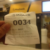 Photo taken at Maybank by Shukry S. on 3/22/2017