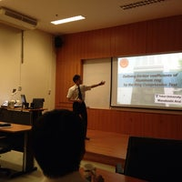 Photo taken at Department of Tool & Materials Engineering by จิราพร ศ. on 3/14/2014