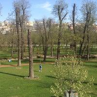 Photo taken at Hasbahçe Parkı by Aslı M. on 4/4/2013