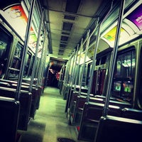 Photo taken at TTC Streetcar #501 Queen by Jason C. on 11/27/2012