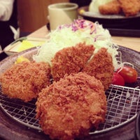 Photo taken at Tonkichi (とん吉) by Jason W. on 12/15/2012