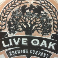 Photo taken at Live Oak Brewery by Justin F. on 5/11/2013