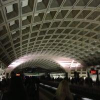 Photo taken at Pentagon Metro Station by Pavel L. on 3/12/2013