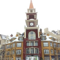 Photo taken at Station Mont Tremblant Resort by Emiliano M. on 2/16/2013