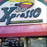 Photo taken at Expresso Drive Thru Cafe by Walter P. on 10/15/2012