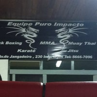 Photo taken at Academia Puro Impacto by Fabiana F. on 12/10/2012