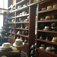 Photo taken at Goorin Bros. Hat Shop by Christian T. on 3/29/2013