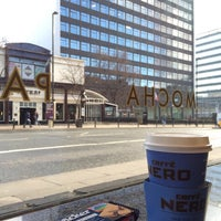 Photo taken at Caffè Nero by Ahmed A. on 2/7/2014