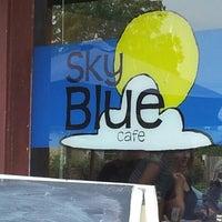 Photo taken at Sky Blue Cafe by Brittney E. on 9/15/2012