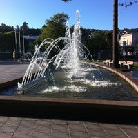 Photo taken at Plaza de Armas Talcahuano by Andres B. on 12/25/2012