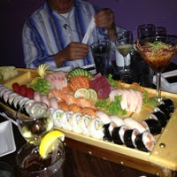 Photo taken at Tee-Jay Thai Sushi by Ray E. on 1/25/2013
