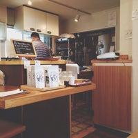 Photo taken at cafe USAGIYA by Hiroyuki T. on 5/3/2014