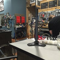 Photo taken at Peddler Bike Shop by Anthony C. on 8/15/2015