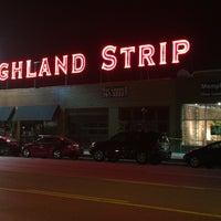 Photo taken at The Highland Strip by Anthony C. on 4/17/2016