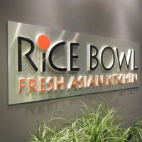 Photo taken at Rice Bowl Asian Kitchen by Anthony C. on 2/11/2013