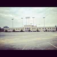 Photo taken at War Memorial Stadium / AT&T Field by Anthony C. on 10/2/2012