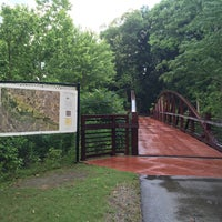 Photo taken at Wolf River Greenway by Anthony C. on 6/15/2015