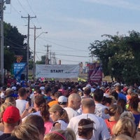 Photo taken at Elvis 5k At Graceland! by Anthony C. on 8/18/2014
