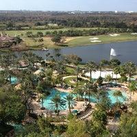 Photo taken at JW Marriott Orlando Grande Lakes by Tammy V. on 1/1/2013