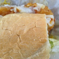 Photo taken at AJ's Famous Seafood and PoBoys by Tammy V. on 5/21/2013