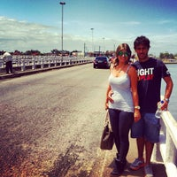 Photo taken at Ponte Giuseppe Garibaldi (Ponte Tramandaí - Imbé) by DaniZinha d. on 11/26/2012