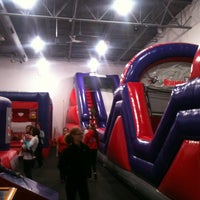Photo taken at Bounce U by Todd S. on 4/20/2013
