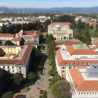 Photo taken at Campanile (Sather Tower) by Ted B. on 3/19/2014