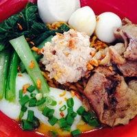 Photo taken at 7 Village Noodle House (七廊粿條湯) by Lee Z. on 6/18/2014