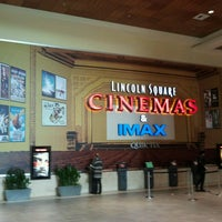 Photo taken at Lincoln Square Cinemas by Kennedy S. on 2/19/2013