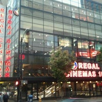 Photo taken at Regal Cinemas Meridian 16 by Kennedy S. on 10/2/2012