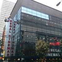 Photo taken at Regal Cinemas Meridian 16 by Kennedy S. on 10/8/2013