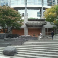 Photo taken at University Street LINK Station by Kennedy S. on 11/7/2012