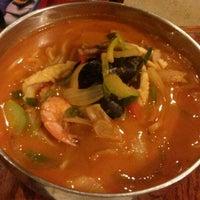 Photo taken at Sam Won Garden Korean BBQ by Andy L. on 12/10/2013