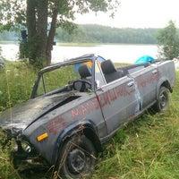 Photo taken at Озеро Бородинское by Alexey F. on 8/8/2015