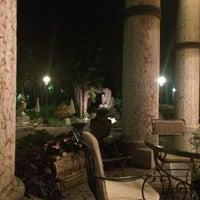 Photo taken at Villa Cortine Palace Hotel by Roman K. on 9/15/2014