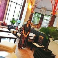 Photo taken at Tara Angkor Hotel Breakfast Lounge by Anj A. on 7/17/2013