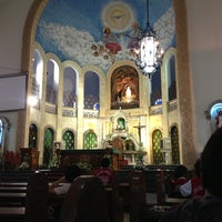Photo taken at National Shrine of Our Lady of Lourdes by Anj A. on 6/25/2013