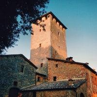 Photo taken at Castello Poggiarello by Rudi A. on 10/13/2014
