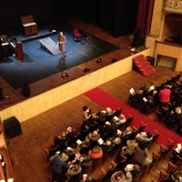Photo taken at Teatro Storchi by Alessandro A. on 12/1/2013