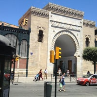 Photo taken at Mercado de Atarazanas by Javier C. on 7/8/2013