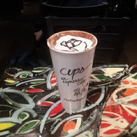 Photo taken at Cups, an Espresso Café by Davin L. on 10/9/2012