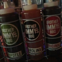 Photo taken at Brother Jimmy's BBQ by Sereita C. on 1/6/2013