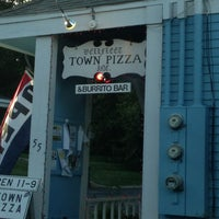 Photo taken at Wellfleet Town Pizza by Jim M. on 7/3/2013